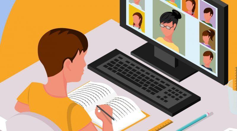 Обучение от разстояние за учениците от  5 и 6 клас - голяма снимка